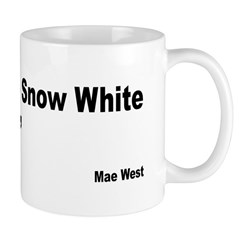 Mae West Snow White Quote Mug