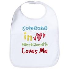 Someone in Massachusetts Loves Me Bib