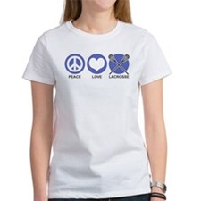 Peace Love Lacrosse Tee