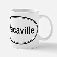Vacaville (oval) Mug