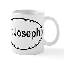 St Joseph (oval) Mug