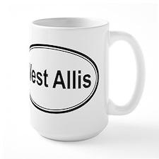 West Allis (oval) Mug
