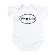 West Allis (oval) Infant Bodysuit