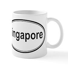 Singapore (oval) Mug