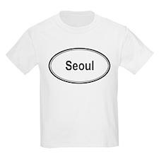 Seoul (oval) T-Shirt