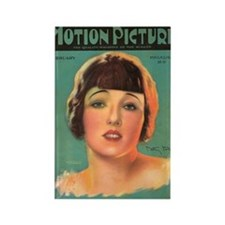 Betty Blythe 1925 Magazine Cover Rectangle Magnet