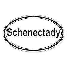 Schenectady (oval) Oval Sticker (50 pk)