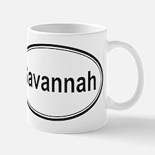 Savannah (oval) Small Small Mug