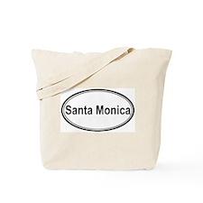 Santa Monica (oval) Tote Bag