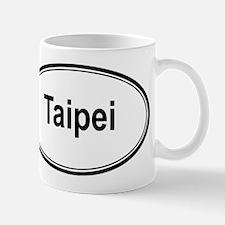 Taipei (oval) Mug