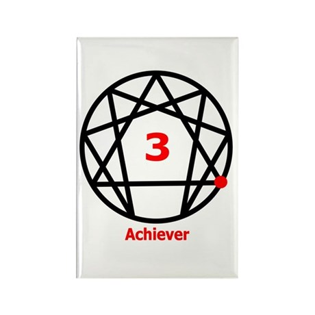 Type 3 Achiever Rectangle Magnet