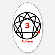 Type 3 Achiever Oval Decal