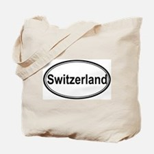 Switzerland (oval) Tote Bag