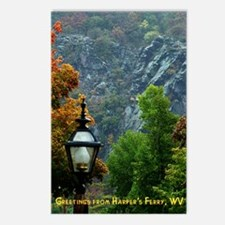 Harper's Ferry in the Fall Postcards (Package of 8