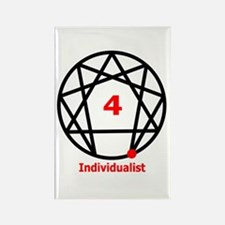 Type 4 Individualist Rectangle Magnet