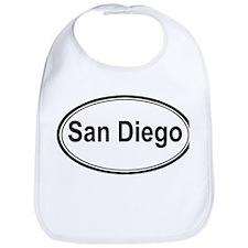 San Diego (oval) Bib