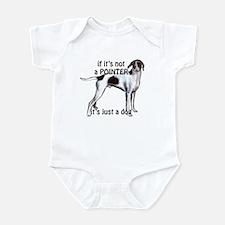 English Pointer Dog Infant Bodysuit