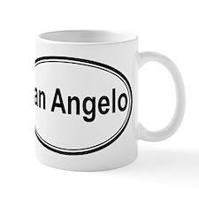 San Angelo (oval) Mug