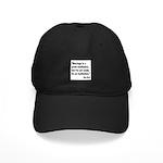 Mae West Marriage Quote Black Cap