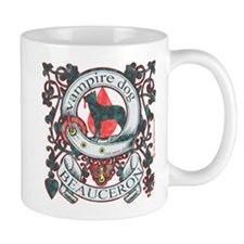 Beauceron Vampire Dog Mug