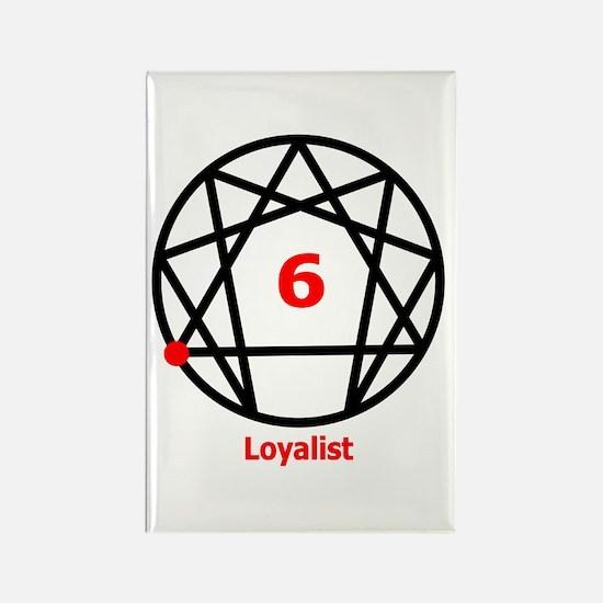 Type 6 Loyalist Rectangle Magnet