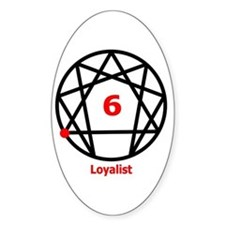 Type 6 Loyalist Oval Decal