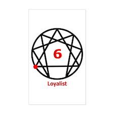 Type 6 Loyalist Rectangle Decal