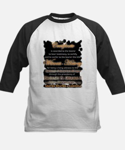 Witness to History Certificate - Tee