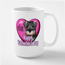 Miniature Schnauzer V-Day Mug