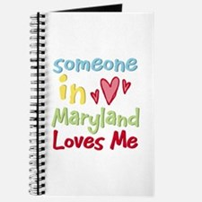 Someone in Maryland Loves Me Journal