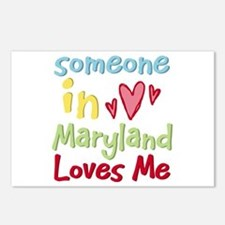 Someone in Maryland Loves Me Postcards (Package of