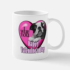 Boston Terrier V-Day Mug
