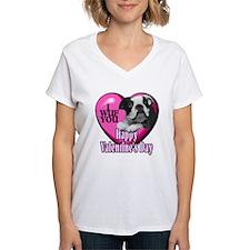 Boston Terrier V-Day Shirt