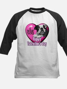 Boston Terrier V-Day Tee