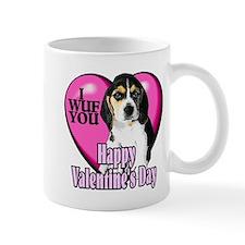 Beagle Valentines Mug