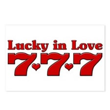 Lucky in Love 777 Postcards (Package of 8)