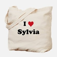 I love Sylvia Tote Bag