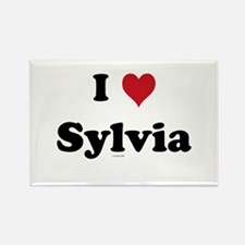 I love Sylvia Rectangle Magnet (10 pack)