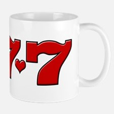 777 Hearts Mug