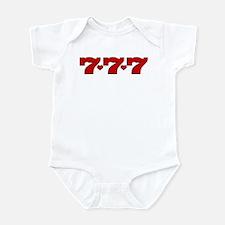 777 Hearts Infant Bodysuit