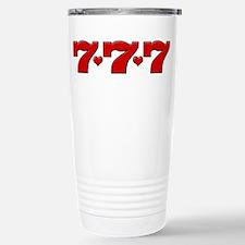 777 Hearts Stainless Steel Travel Mug