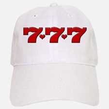 777 Hearts Baseball Baseball Cap