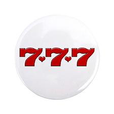 "777 Hearts 3.5"" Button"