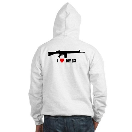 Back Logo Hooded Sweatshirt