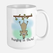 Hanging in There Large Mug