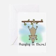 Hanging in There Greeting Card