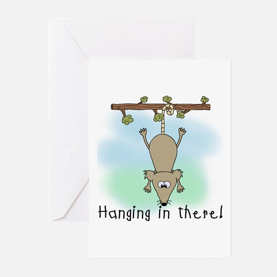 Hanging in There Greeting Cards (Pk of 10)