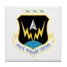 Space Warfare Tile Coaster