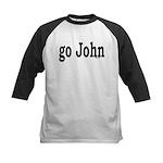 go John Kids Baseball Jersey