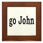 go John Framed Tile